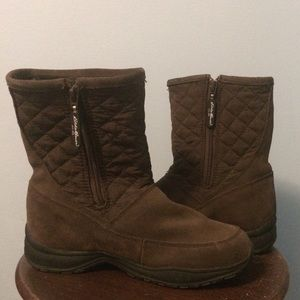 Boots Brown Leather 7